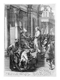 Christ before Pilate, Engraved by Nicolaes Braeu (Engraving) Giclee Print by Jacopo Robusti Tintoretto