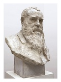 Portrait of Claude Monet, 1911 (Plaster) Giclee Print by Paul Paulin