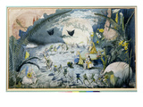 A Fairy Gathering (W/C) Giclee Print by George Cruikshank