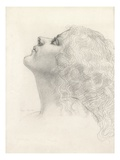 Lyndra, 1909 (Pencil on Paper) Giclee Print by Derwent Lees