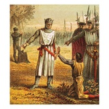 Death of Piers Gaveston Giclee Print by  English