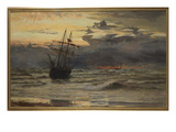 Dawn after the Storm (Oil on Canvas) Giclee Print by William Lionel Wyllie