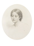Kate, C.1870S (Pencil on Paper) Giclee Print by Charles Edward Perugini