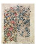 Rose' Wallpaper Design (Pencil and W/C on Paper) Impression giclée par William Morris