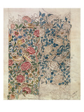Rose' Wallpaper Design (Pencil and W/C on Paper) Giclee Print by William Morris