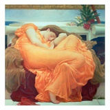 Flaming June, ca 1895|Flaming June, c.1895 Gicleetryck av Frederick Leighton