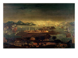 Battle of Bunker Hill, 17th June 1775 (Oil) Giclee Print by Winthrop Chandler