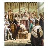 Coronation of Victoria Giclee Print by  English