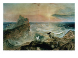 Assuaging of the Waters Giclee Print by John Martin