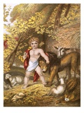 The Peaceable Kingdom Giclee Print by  English