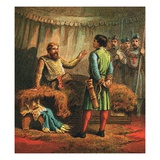Death of Richard the First Giclee Print by  English