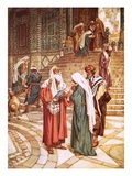 The Child Jesus Brought to the Temple and Recognised by Simeon as the Saviour Giclee Print by William Brassey Hole