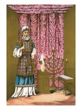 The Hight Priest, with His Ephod and Breastplate, in the Holy Place Giclee Print by  English