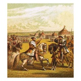 Field of the Cloth of Gold Giclee Print by  English
