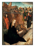 The Nativity (Oil on Panel) Giclee Print by Hans Memling