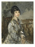 The Governess, 1917 (Oil on Canvas) Giclee Print by Ambrose Mcevoy