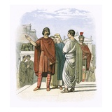 Caractacus at Rome in Ad 52 Giclee Print by James E. Doyle
