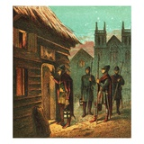 The Curfew Giclee Print by  English