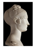 Bust of Elisa Bonaparte, Princess Bacciochi (Marble) (See also 414784 and 414786) Giclee Print by Lorenzo Bartolini