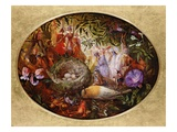 The Death of Cock Robin Giclee Print by John Anster Fitzgerald