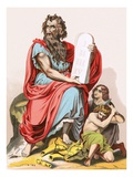 Moses Giclee Print by  English