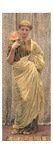 The Gilded Fan (Oil on Canvas) Giclee Print by Albert Joseph Moore