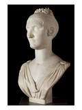 Bust of Elisa Bonaparte, Princess Bacciochi (Marble) (See also 414784 and 414785) Giclee Print by Lorenzo Bartolini