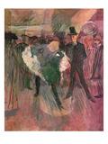 La Goulue and Valentin Le Desosse Giclee Print by Henri de Toulouse-Lautrec