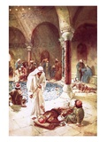 Jesus at the Pool of Bethseda Giclee Print by William Brassey Hole