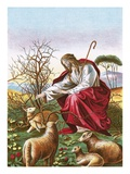 The Good Shepherd Giclee Print by  English