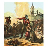 The Relief of Lucknow Giclee Print by  English