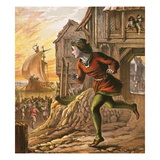 Dick Whittington Giclee Print by  English