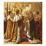 Marriage of Henry Vii Impression giclée par  English