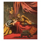 Prince Edward and His Wife Giclee Print by  English