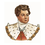 King George Iv Giclee Print by  English