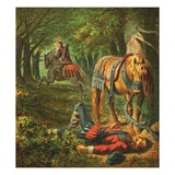 Death of William the Second Giclee Print by  English