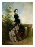 Portrait of a Lady Giclee Print by Richard Buckner
