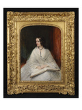 Portrait of Jane Fortescue Seymour, Mrs Coleridge, C.1862 (Oil on Panel) Giclee Print by William Boxall