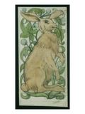 Hare (W/C on Paper) Reproduction procédé giclée par William De Morgan
