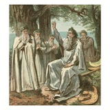 Druids or British Priests Giclee Print by  English