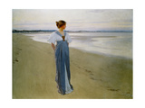 The Seashore, 1900 (Oil on Canvas) Giclee Print by William Henry Margetson