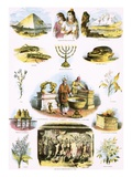 Biblical Illustrations Giclee Print by  English