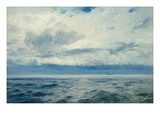 Storm Brewing, 1890 Giclee Print by Henry Moore