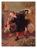 Here Comes the Gobbler..., C.1877 Giclee Print by Sophie Anderson