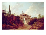 Kew Gardens: Ruined Arch Reproduction procédé giclée par Richard Wilson