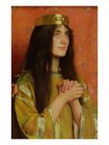 La Reine Clothilde Giclee Print by Thomas Cooper Gotch