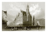 Hotel De Ville Giclee Print by  English