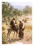 Boaz and Ruth Giclee Print by William Brassey Hole