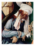 Detail of the Mocking of Christ Giclee Print by Matthias Grunewald