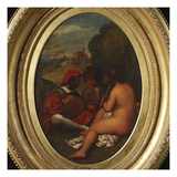 Le Concert Champetre, after Titian Giclee Print by William Etty